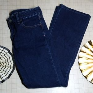 Banana Republic Trouser Boot Cut Jeans size 26